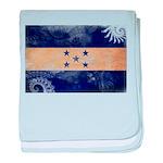 Honduras Flag baby blanket
