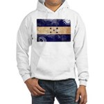 Honduras Flag Hooded Sweatshirt