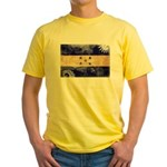 Honduras Flag Yellow T-Shirt