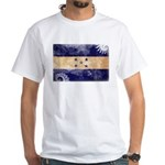 Honduras Flag White T-Shirt