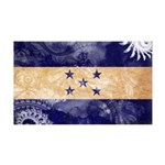 Honduras Flag 38.5 x 24.5 Wall Peel