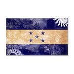 Honduras Flag 22x14 Wall Peel