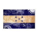Honduras Flag 22x14 Wall Peel