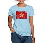 Hong Kong Flag Women's Light T-Shirt