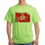 Hong Kong Flag Green T-Shirt