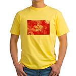 Hong Kong Flag Yellow T-Shirt