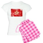 Hong Kong Flag Women's Light Pajamas
