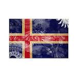 Iceland Flag Rectangle Magnet (10 pack)