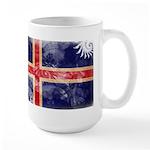 Iceland Flag Large Mug