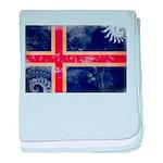 Iceland Flag baby blanket