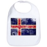 Iceland Flag Bib