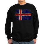 Iceland Flag Sweatshirt (dark)