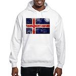 Iceland Flag Hooded Sweatshirt