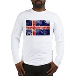 Iceland Flag Long Sleeve T-Shirt