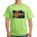 Iceland Flag Green T-Shirt