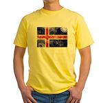 Iceland Flag Yellow T-Shirt