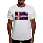 Iceland Flag Light T-Shirt