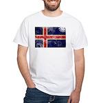 Iceland Flag White T-Shirt