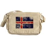 Iceland Flag Messenger Bag
