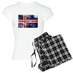 Iceland Flag Women's Light Pajamas