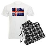 Iceland Flag Men's Light Pajamas