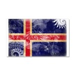 Iceland Flag Car Magnet 20 x 12