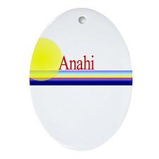 Anahi Oval Ornament