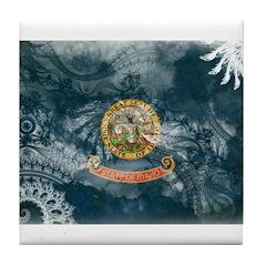 Idaho Flag Tile Coaster