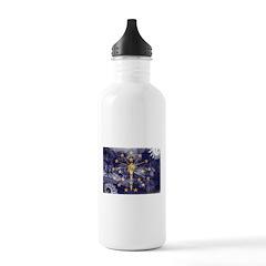 Indiana Flag Water Bottle