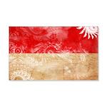 Indonesia Flag 22x14 Wall Peel