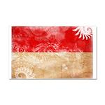 Indonesia Flag Car Magnet 20 x 12