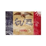 Iowa Flag Rectangle Magnet (100 pack)