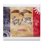 Iowa Flag Tile Coaster
