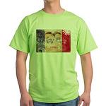 Iowa Flag Green T-Shirt