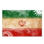 Iran Flag Postcards (Package of 8)