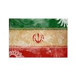 Iran Flag Rectangle Magnet (100 pack)