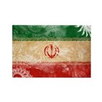 Iran Flag Rectangle Magnet