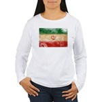 Iran Flag Women's Long Sleeve T-Shirt