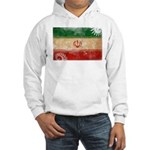 Iran Flag Hooded Sweatshirt