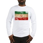 Iran Flag Long Sleeve T-Shirt