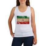 Iran Flag Women's Tank Top
