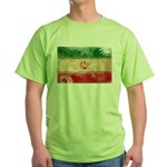 Iran Flag Green T-Shirt