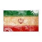 Iran Flag 22x14 Wall Peel