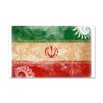 Iran Flag Car Magnet 20 x 12
