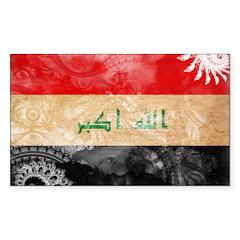 Iraq Flag Decal