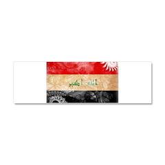 Iraq Flag Car Magnet 10 x 3