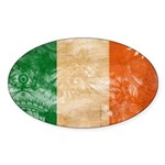 Ireland Flag Sticker (Oval)