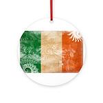 Ireland Flag Ornament (Round)