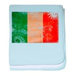 Ireland Flag baby blanket