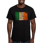 Ireland Flag Men's Fitted T-Shirt (dark)